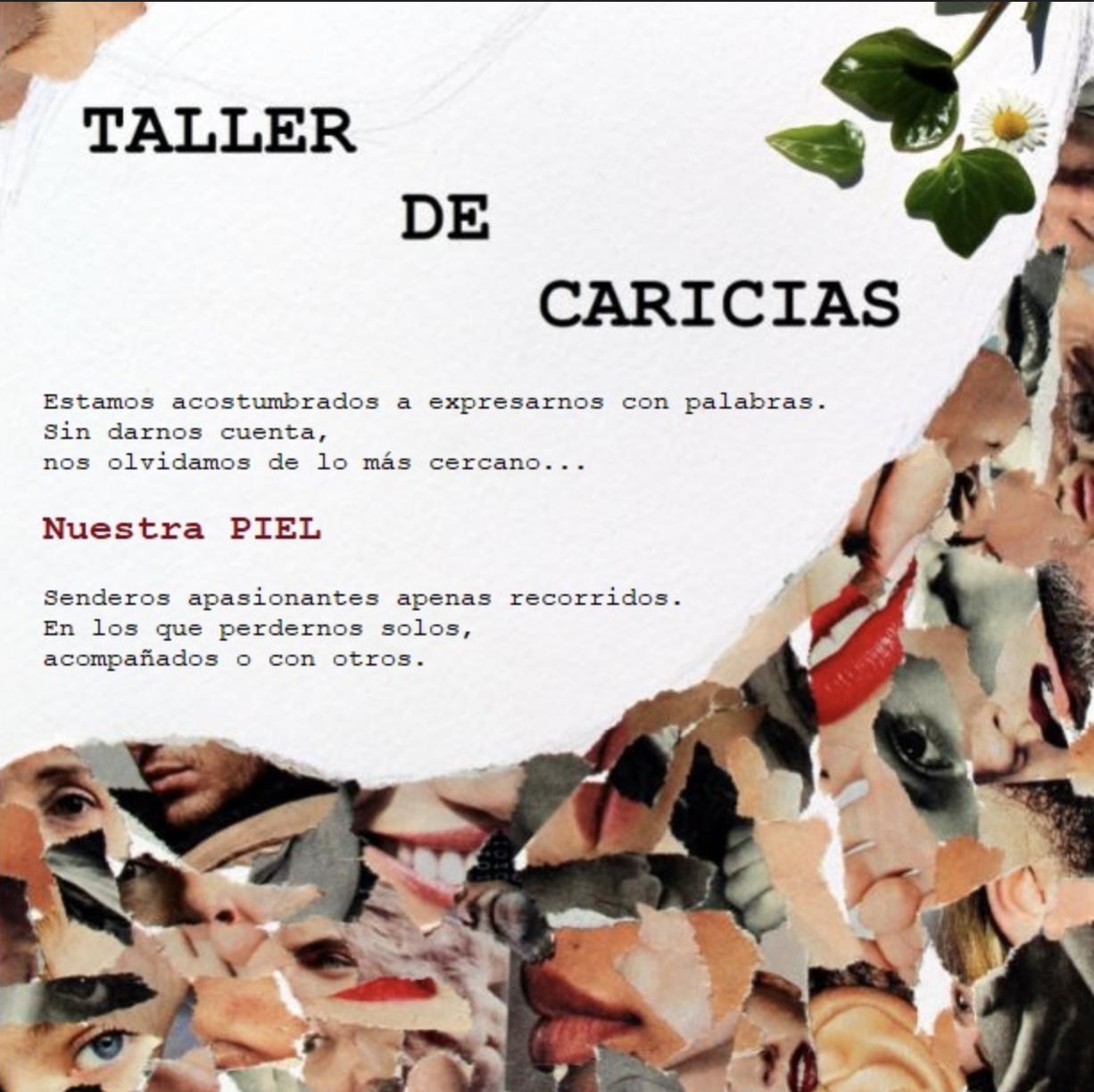 Taller de caricias Lucía Sumillera